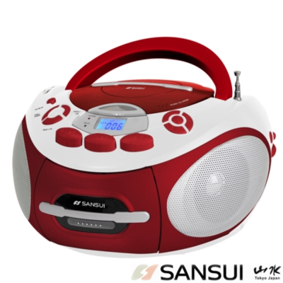 山水 CD/MP3/USB/SD/AUX/卡帶手提式音響(SC-85C)