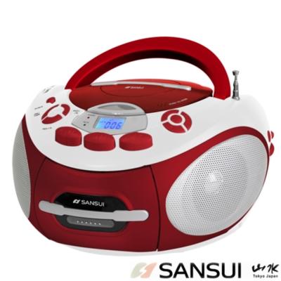 山水 CD/MP 3 /USB/SD/AUX/卡帶手提式音響(SC- 85 C)