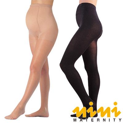 《nini專櫃孕婦裝》妮妮孕婦彈性薄絲襪(3入組)(NM17)