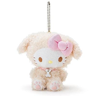 Sanrio HELLO KITTY裝扮狗狗趣味玩偶吊鍊