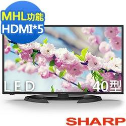 SHARP夏普40吋FHD LED