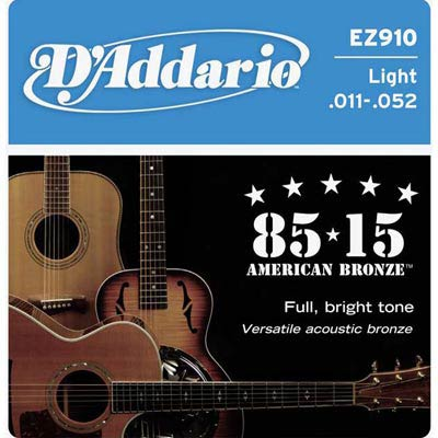 D'Addario EZ910 民謠吉他弦 (11-52)