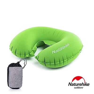 Naturehike TPU超輕量 護頸U型充氣枕 新氣嘴 茉莉綠-急