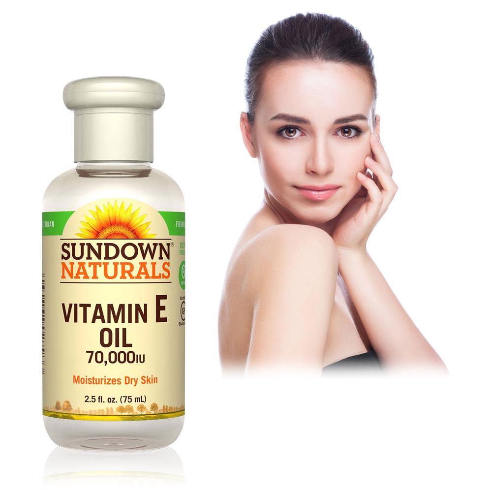 Sundown日落恩賜 維他命E凝膠全效護膚油(75ml/瓶)