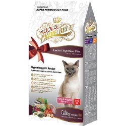 LV藍帶精選 低卡貓 成貓 熟齡貓 1.2kg 鴨肉蔬果 + 膠原蛋白