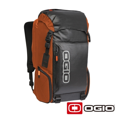 OGIO THROTTLE 15吋 高效能戶外後背包-橘色