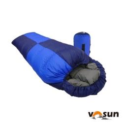 【台灣 VOSUN】(美國杜邦Tactel) 頂極水鳥羽絨睡袋 1000g