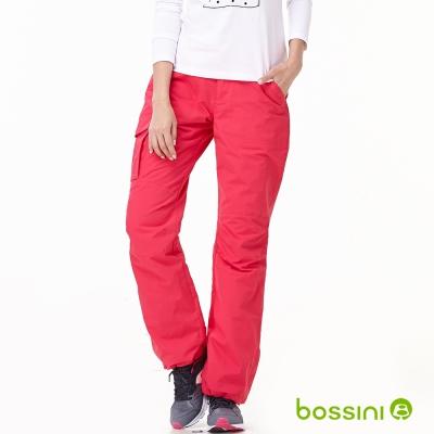 bossini女裝-多功能防風雪褲-2亮桃紅