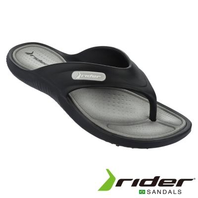 Rider 巴西 男 CAPE IX AD 時尚機能夾腳拖 (經典黑)