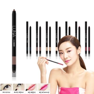 韓國LUNA 眼唇頰彩氣墊筆0.4g#2輪廓棕