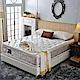 A家-正四線-酷涼感抗菌-護邊蜂巢獨立筒床墊-單人
