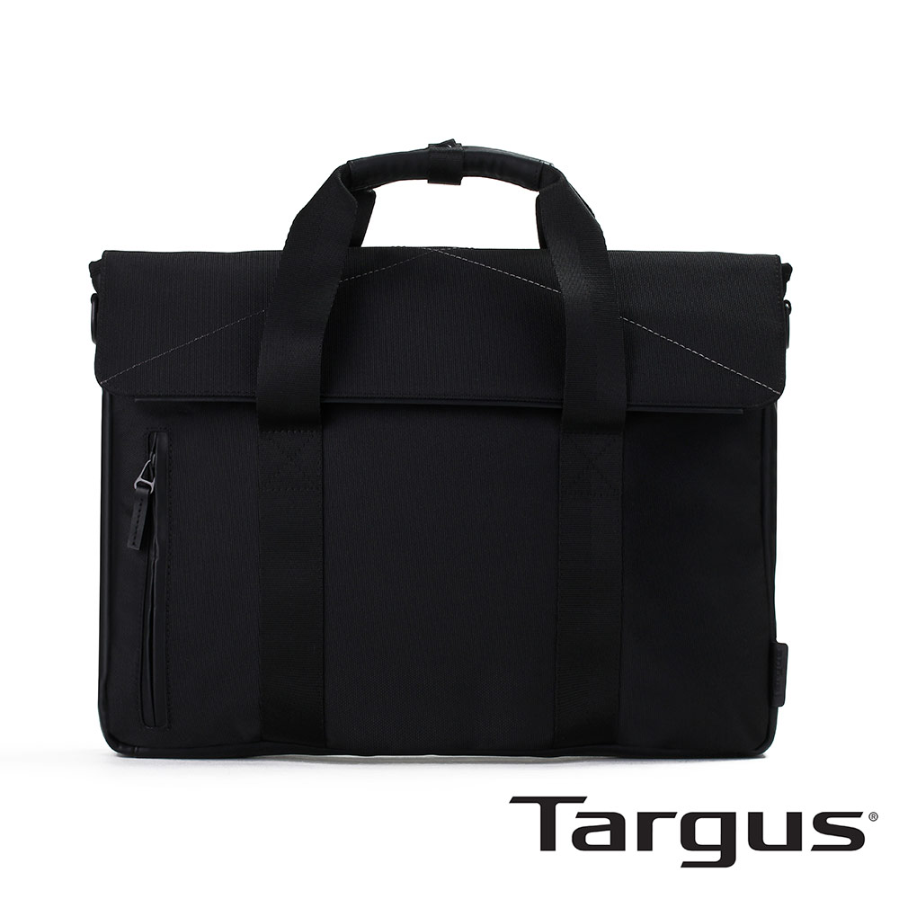 Targus T-1211 都會雅痞 15.6 吋輕量公事包-都會黑