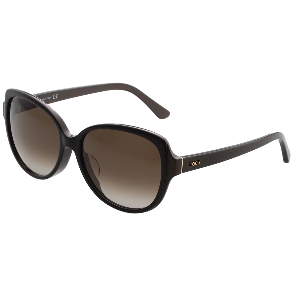 TOD'S 簡約不敗款 太陽眼鏡 (黑色)TO160F