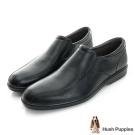 Hush Puppies Onchu 防潑水直套式正裝鞋-黑色