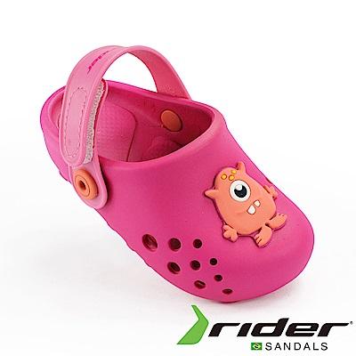 RIDER 巴西-幼童 布希鞋 LUNAR 桃紅