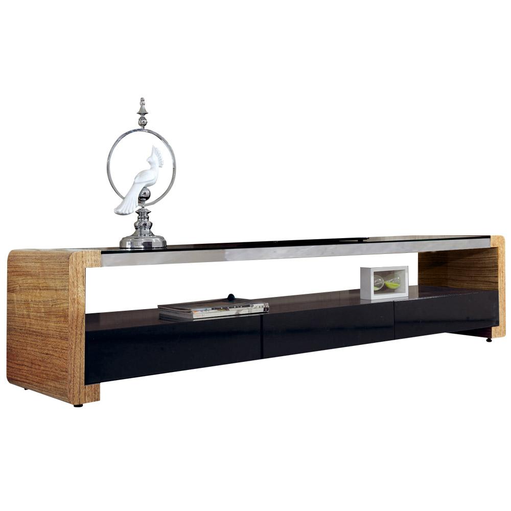 AT HOME-吉莉安6.6尺雙色三抽長櫃
