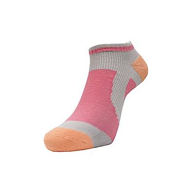 AREX SPOR 足弓支撐機能腳踏車襪-女-桃橘