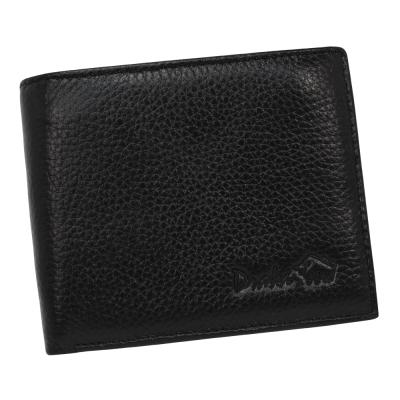 DRAKA 達卡 - 真皮皮夾荔紋烙印系列 零錢袋可掀式- 44DK3029