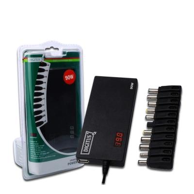 曜兆DIGITUS通用平板USB充電孔加90W筆電變壓器(平板筆電雙充電)