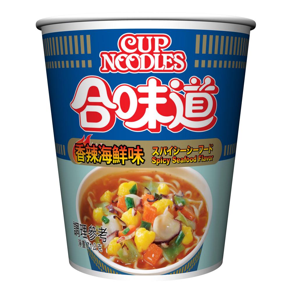 (活動)日清 合味道香辣海鮮味杯麵(71g)