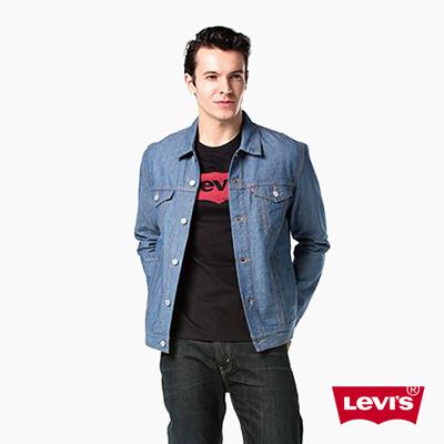 男款經典牛仔夾克外套-牛仔藍-Levis