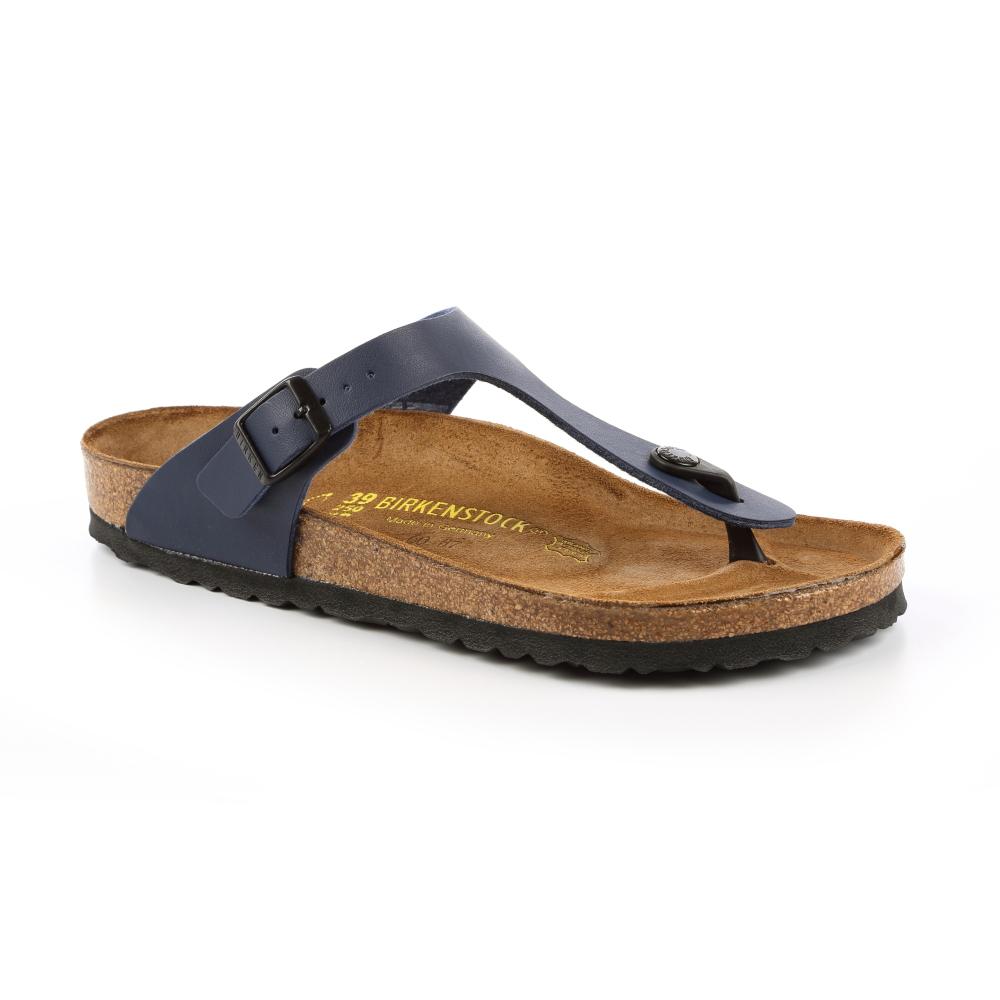 勃肯BIRKENSTOCK 143621。吉薩 夾腳拖鞋(深藍)