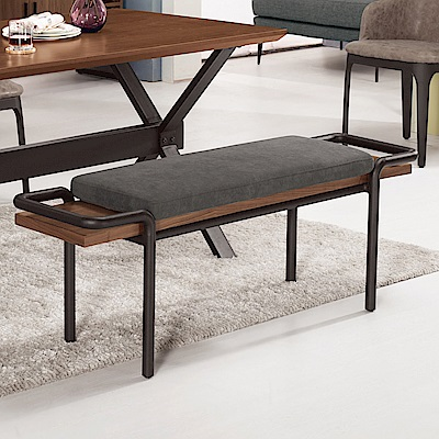 Bernice-坦卡司工業風長凳/椅凳/餐椅-139x36x48cm