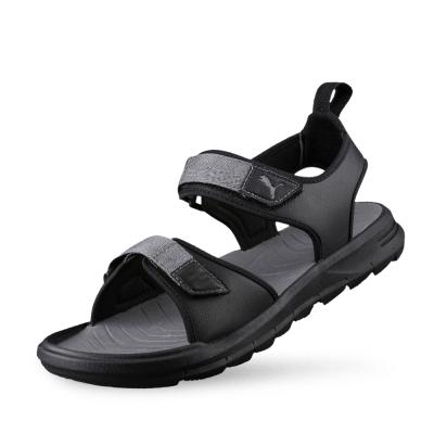 PUMA Wild Sandal 男女涼鞋-黑色
