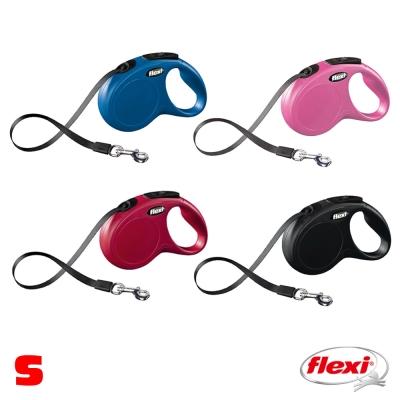 【飛萊希】flexi 進化系列 伸縮牽繩 帶狀 S號