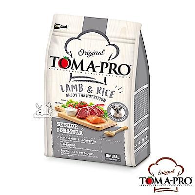 TOMA PRO 優格 高纖低脂 羊肉+米  高齡犬 飼料 3公斤