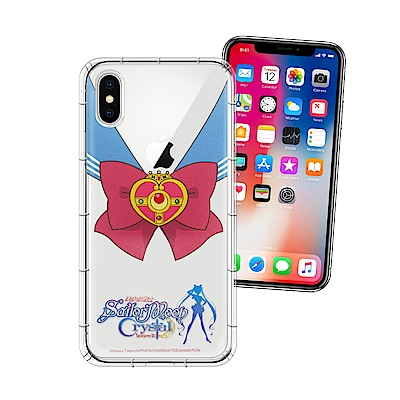 正版美少女戰士 iPhone X 空壓安全手機殼(水手服)