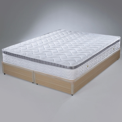 Homelike-巴德三線硬式2-4獨立筒床墊-單人3-5尺
