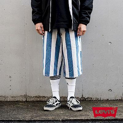 短褲 男裝 復古寬褲 海洋風 銀標Silver Tab系列 - Levis