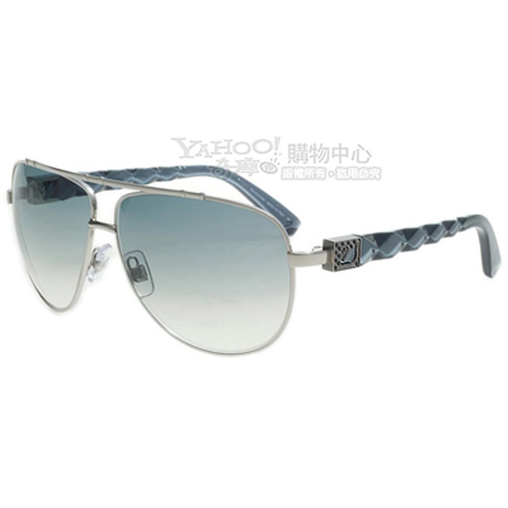 SWAROVSKI-時尚太陽眼鏡(銀色)SW3