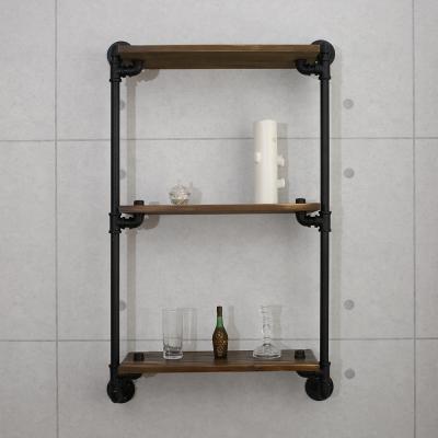 微量元素 手感工業風美式水管壁掛架(DIY)