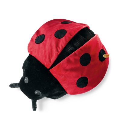 STEIFF德國金耳釦泰迪熊 -  Ladybird 瓢蟲抱枕(動物王國)