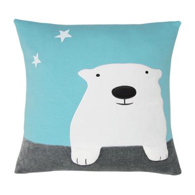 Yvonne Collection大白熊抱枕-淺藍綠(45x45cm)