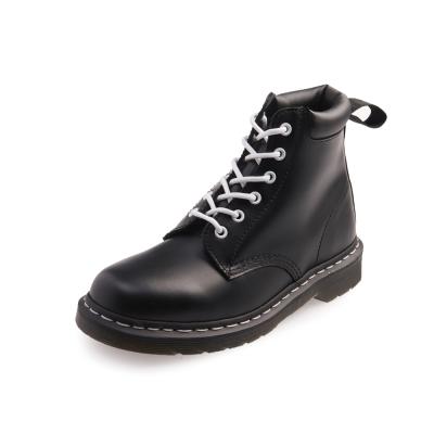 Dr.Martens-經典939 6孔亮皮馬汀靴-男款-黑