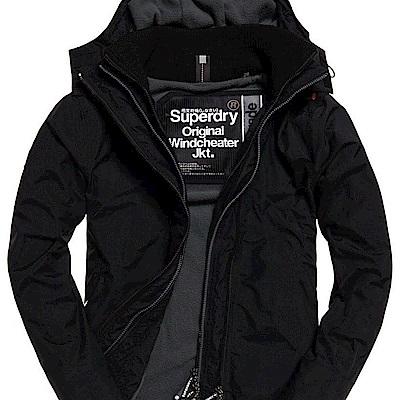 SUPERDRY 極度乾燥 男 外套 黑色  0380