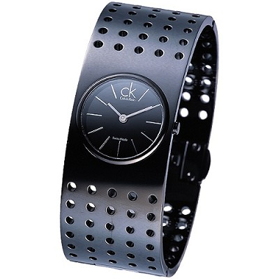 cK Calvin Klein grid 個性品味休閒手環錶(大)