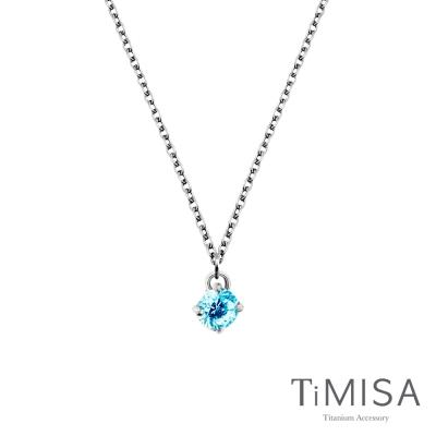 TiMISA《純淨光芒 純鈦項鍊(C)-(7色可選)