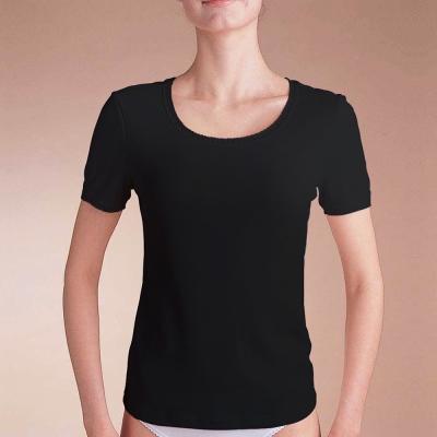 曼黛瑪璉 I2009短袖衛生衣(黑)