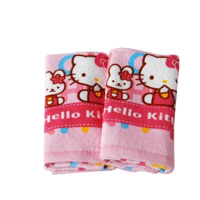 Sanrio三麗鷗授權Hello Kitty凱蒂貓系列-凱蒂貓開學季童巾(6入)