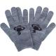 Vivienne Westwood 經典行星圖案毛線針織手套-藍灰色 product thumbnail 1