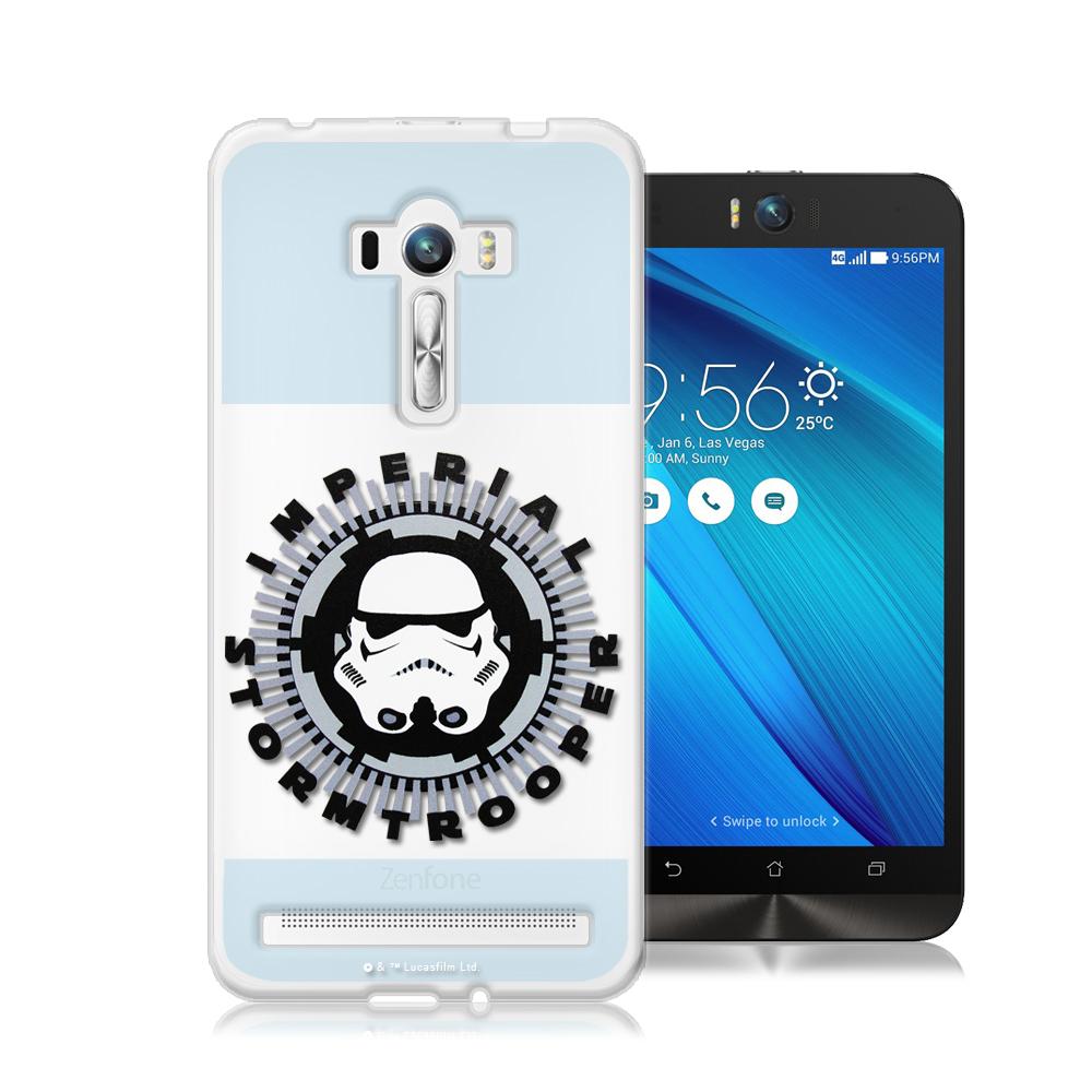STAR WARS星際大戰 ASUS ZenFone Selfie 軟式手機殼(白兵頭)