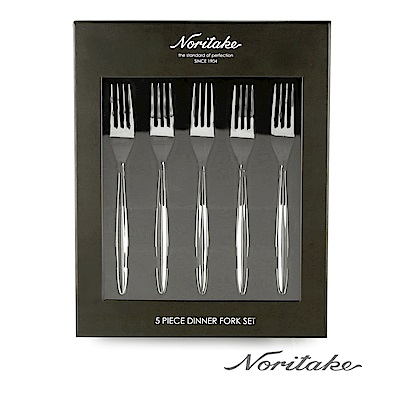Noritake 圓滿-餐叉5件組(日本皇室御用品牌)