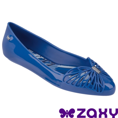 Zaxy 巴西-女 FLOW SAP FEM 法式娃娃鞋 (藍)