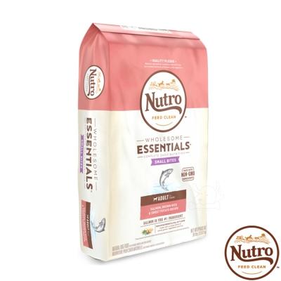 【Nutro 美士】全護營養 成犬 小顆粒(特級鮭魚+糙米+地瓜)30磅 X1包