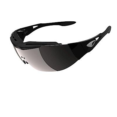 ADHOC運動太陽眼鏡-鍍膜鏡片-無框式DARKness Plus