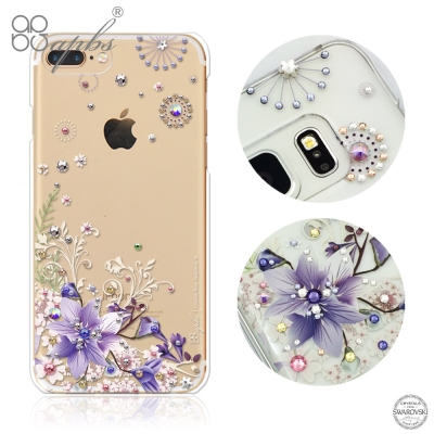 apbs iPhone8/7 Plus 5.5吋施華洛世奇彩鑽手機殼-祕密花園